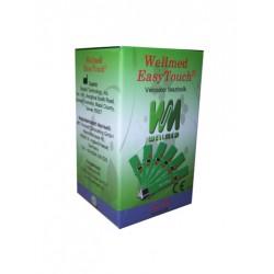 Vércukor tesztcsík Wellmed Easy Touch GU és GC-hez 25 db-os