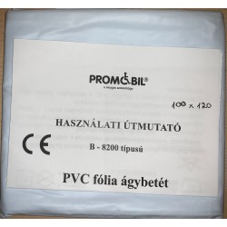 PVC lepedő 100x120