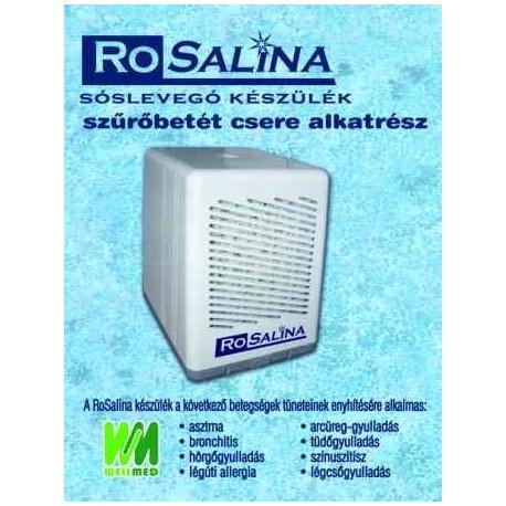 Szűrőbetét Rosalina sóterápiás készülékhez