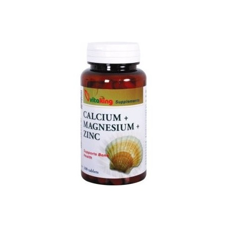 Calcium+Magnézium+Zinc 100db