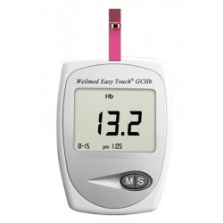 Wellmed Hemoglobin,vércukor-koleszterinmérő készülék Easy Touch