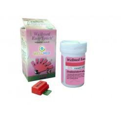 Hemoglobin tesztcsík 25 db Wellmed EasyTouch Gchb