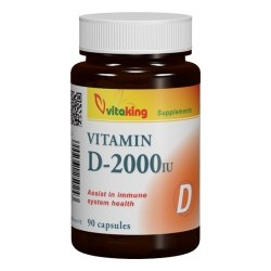 D-vitamin 2000NE vitaking 90db