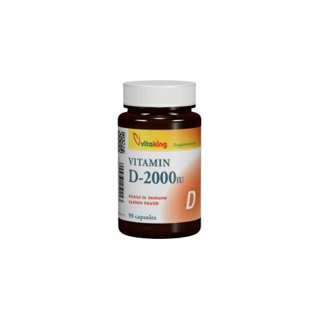 D-vitamin 2000NE vitaking 90db