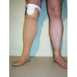 Csővázas lábszárprotézis