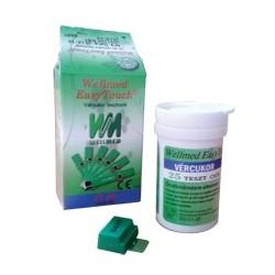 Vércukor tesztcsík Wellmed Easy Touch GU és GC-hez Dupla csomag